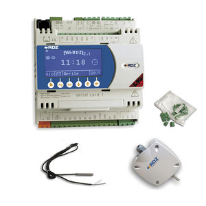 DIN rail heating controller / for heating and cooling