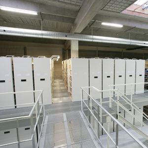 storage mobile shelving / for office / archival / standard