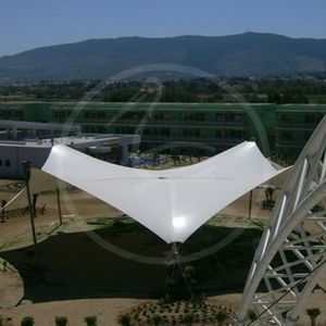 metal frame tensile structure