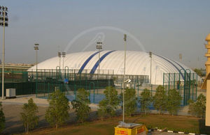 tennis court inflatable structure