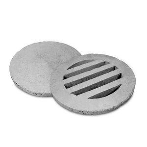 concrete manhole cover / round / prefab