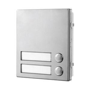 intercom module with name plate back light