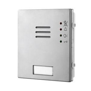 anodized aluminum intercom module