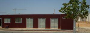 prefab house / modular / contemporary / metal