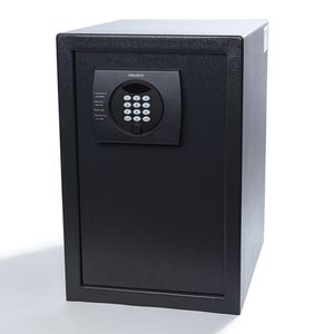 electronic safe / free-standing / built-in / for hotel rooms