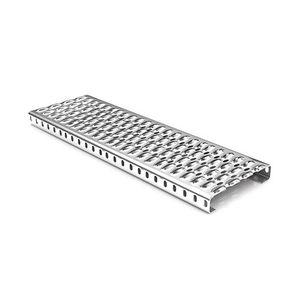 galvanized steel step / aluminum / stainless steel / non-slip