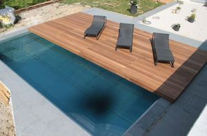Automatic Sliding Deck Pool Cover Isola Favaretti Security
