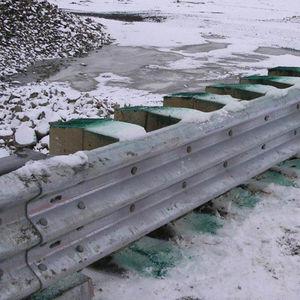 galvanized steel guard rail / street
