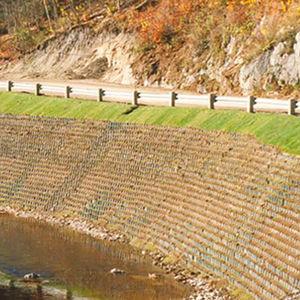erosion control geocell / stabilization system