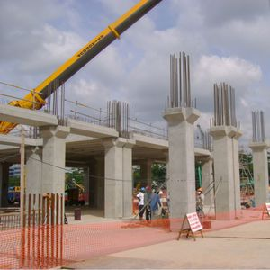 reinforced concrete prefabricated pillar