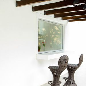 sliding and stacking window