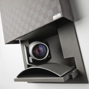 bullet security camera / wall-mounted / motorized
