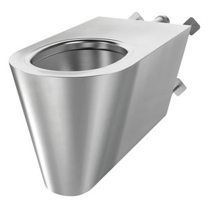 wall-hung toilet / stainless steel