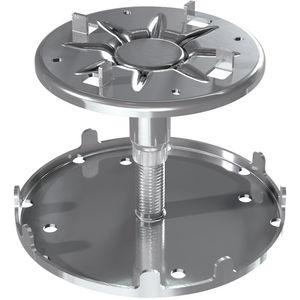 galvanized steel raised floor pedestal
