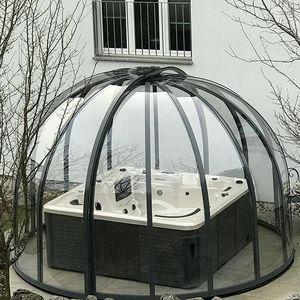 aluminum spa enclosure