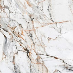 sintered stone stone slab / polished / for floors / for interior
