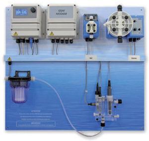 pH public pool regulator