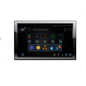 home automation system touch screen