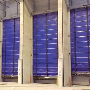 self-supporting industrial doors