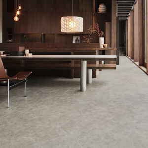 composite flooring / vinyl / acoustic / natural