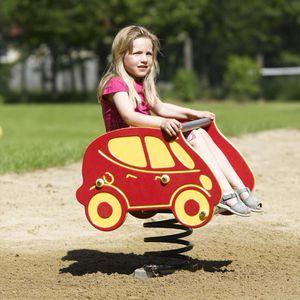 HDPE spring rocker / transport / 1-seat