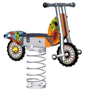 plywood spring rocker / transport / 1-seat