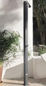 galvanized steel garden shower