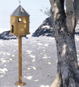 teak birdhouse