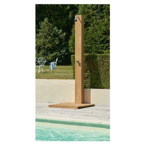solar garden shower / iroko / home