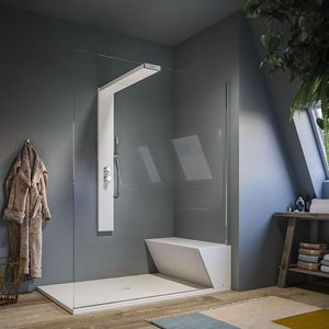 multi-function shower / glass / corner