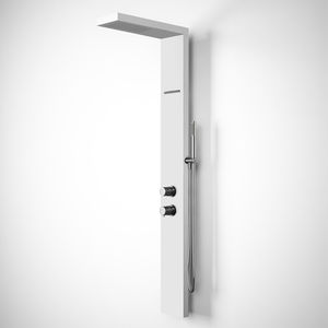 thermostatic shower column