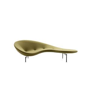 semicircular sofa / original design / fabric / steel