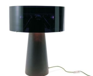 table lamp / contemporary / glass / ceramic