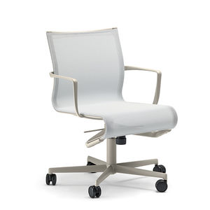 contemporary office chair / on casters / swivel / adjustable