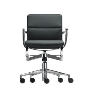 contemporary office chair / on casters / with armrests / swivel