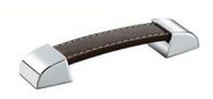 chromed metal furniture handle