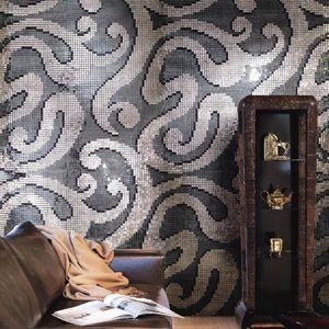 living room mosaic tiles