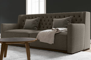 contemporary sofa / fabric / commercial / 2-person