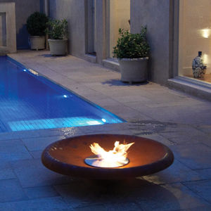 round bioethanol burner
