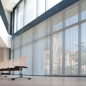 vertical blinds / fabric / commercial / motorized