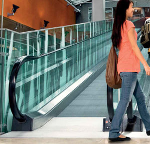 inclined moving walkway