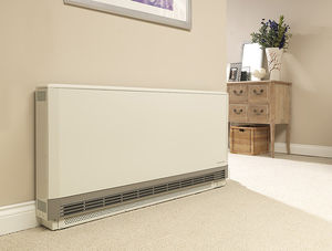 electric storage heater / metal / contemporary / horizontal