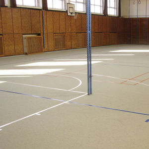 linoleum sports flooring / indoor / industrial / commercial
