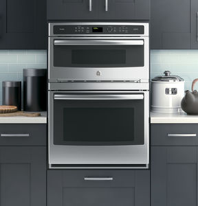electric oven / built-in / convection / microwave