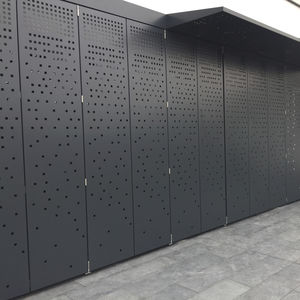 cover panel / construction / aluminum / wall-mounted