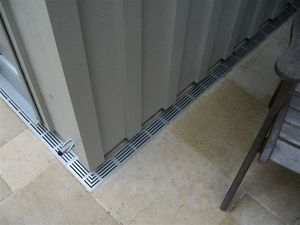 PVC drainage channel