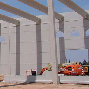 reinforced concrete wall / prefab