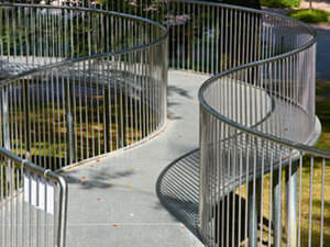 beam walkway