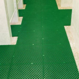 polyethylene grating / for walkways / high-resistance / thermally-insulated