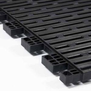 metal grating / copolymer / polypropylene / for walkways